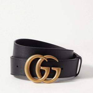 Gucci Calfskin longer length belt 45in